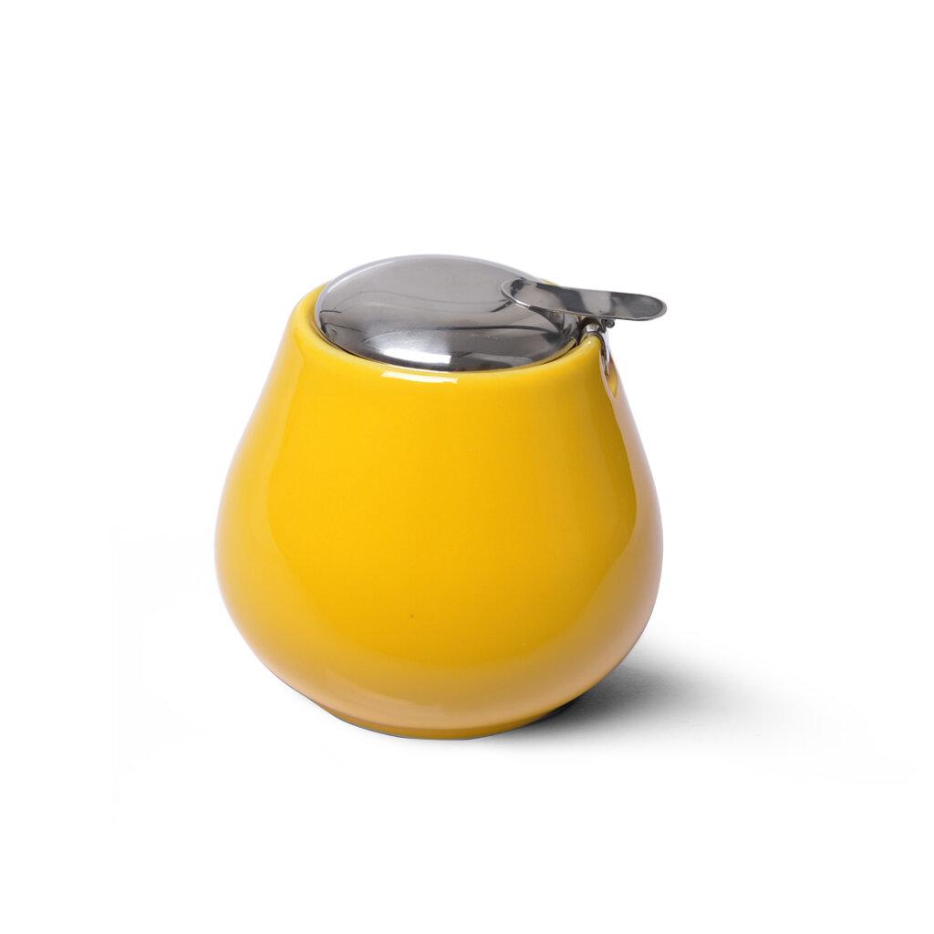 Сахарницы и молочники Fissman Сахарница 600мл, цвет Желтый (керамика)