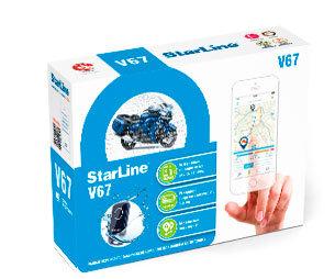 Сигнализации Сигнализация для мототехники StarLine MOTO V67