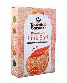 Розовая гималайская соль Oriental Bazar