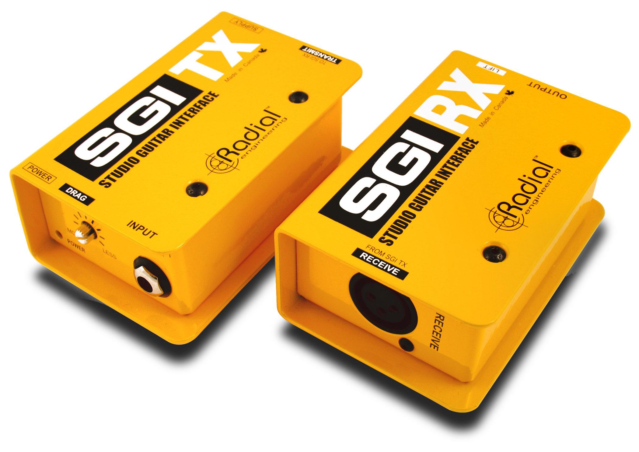 Внешняя звуковая карта Radial SGI