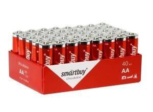 Элемент питания (батарейка) Smartbuy LR06/AA 316 1.5V (блистер 40шт.) SBBA-2A40S