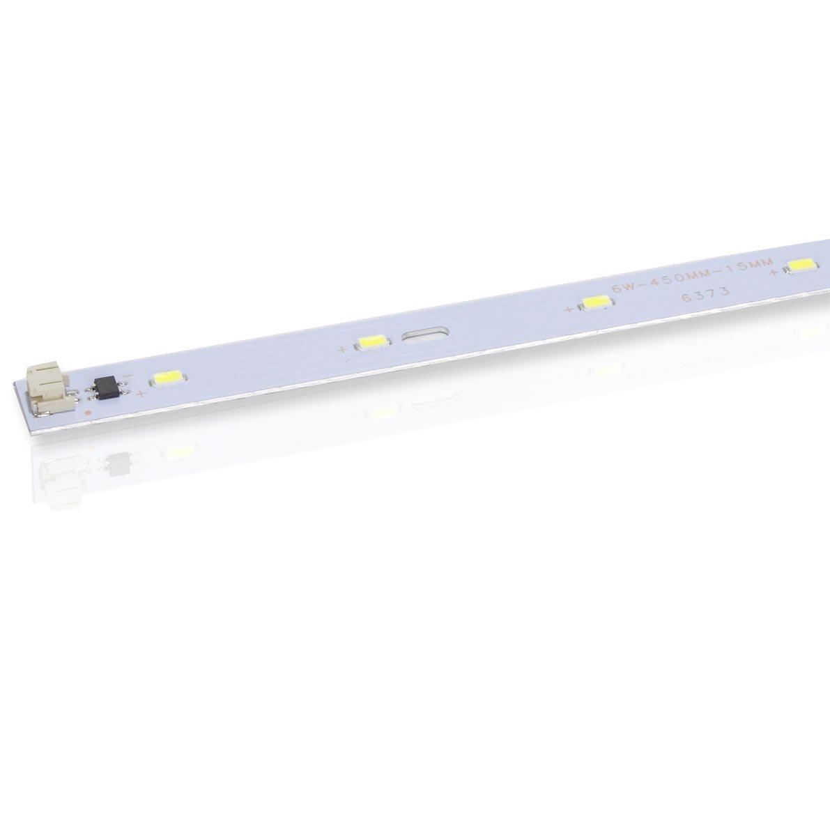 Светодиодная линейка LF-2220 SMD5730, 6W, 11 LED, 220V, 500 lm, 450mm (белый 6000K)