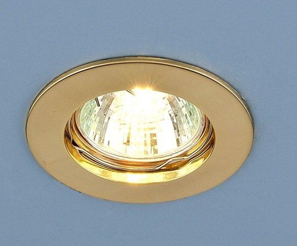 Светильник точечный Elektrostandard 863 MR16 GD золото (литьё) a030072