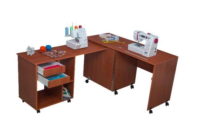 Комфорт Стол для швейной машины и оверлока Комфорт-8