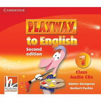 "Gunter Gerngross and Herbert Puchta ""Playway to English (Second Edition) 1 Class Audio CDs (Лицензия)"""