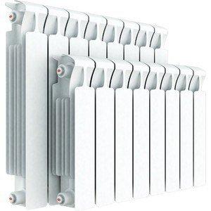 Радиатор отопления RIFAR MONOLIT 500 10 секций биметаллический боковое подключение (RM50010)