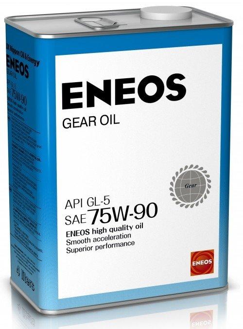 Трансмиссионное масло ENEOS Gear Oil GL-5 75W90 4л