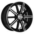 Диск литой Racing Wheels Classic H-385 7x17/5*112 D66.6 ET40 BK F/P - фото 1