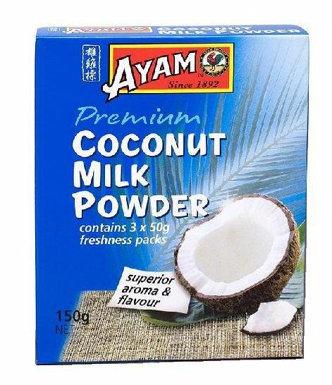 Сухое кокосовое молоко AYAM (150 г)
