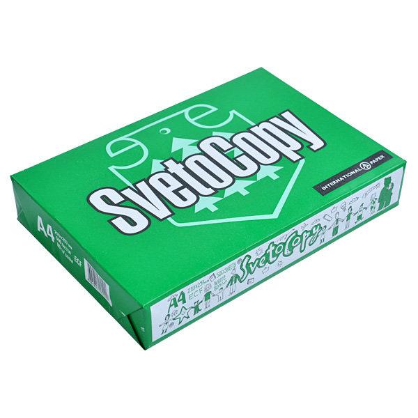 Офисная бумага SVETOCOPY А4, Светокопи для принтера, 500 листов, 80 г/м2
