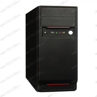 ПК Эконом YCom Intel Celeron J1800/ 4Gb/ 500Gb/ DVDRW/ no OS/ ((PC, системный блок, персональный компьютер, офисный, настольный, напольный, ATX))