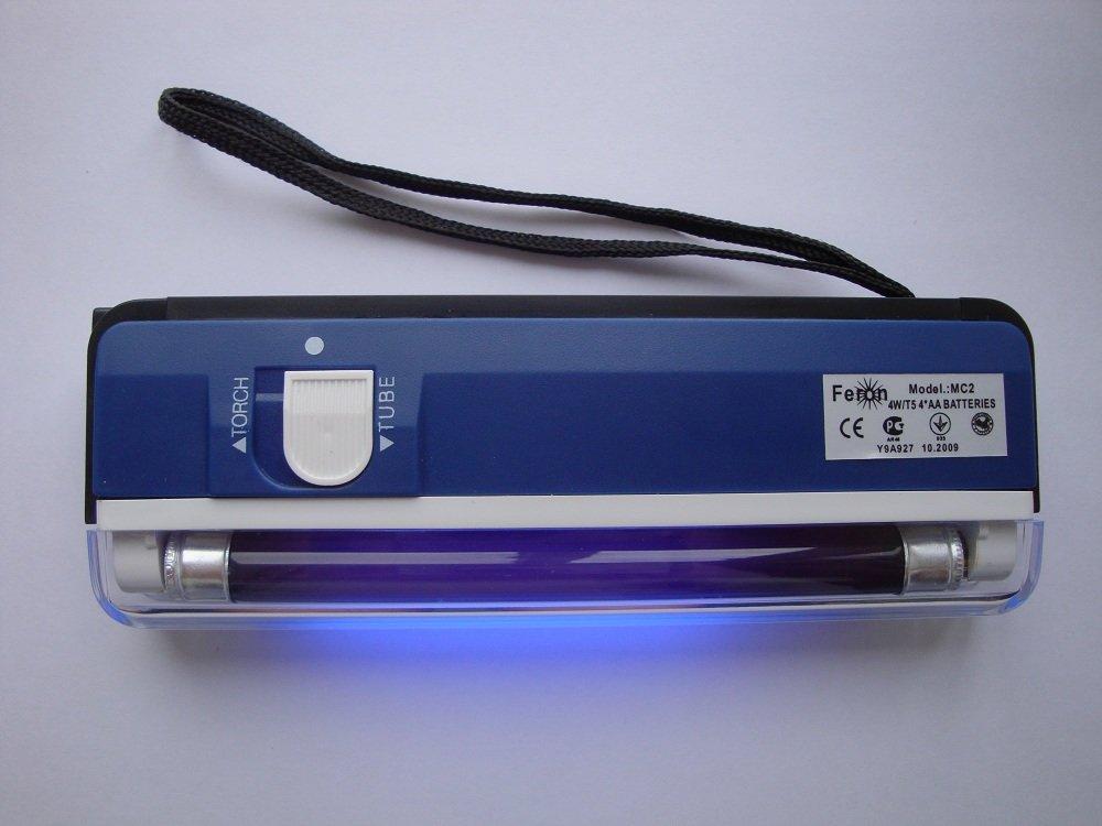 Силтэк Лампа ультрафиолетовая МС 2 для обнаружения скрытой маркировки Синий MC-2