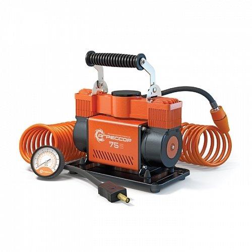 Автомобильный компрессор Агрессор AGR-75