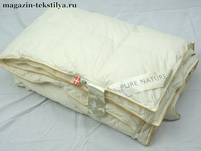 Одеяло Quilts of Denmark Де Люкс пуховое легкое 690г 220х240