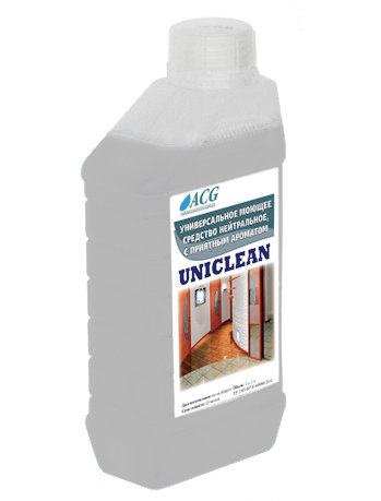 Универсальное моющее средство UNICLEAN 1л ACG