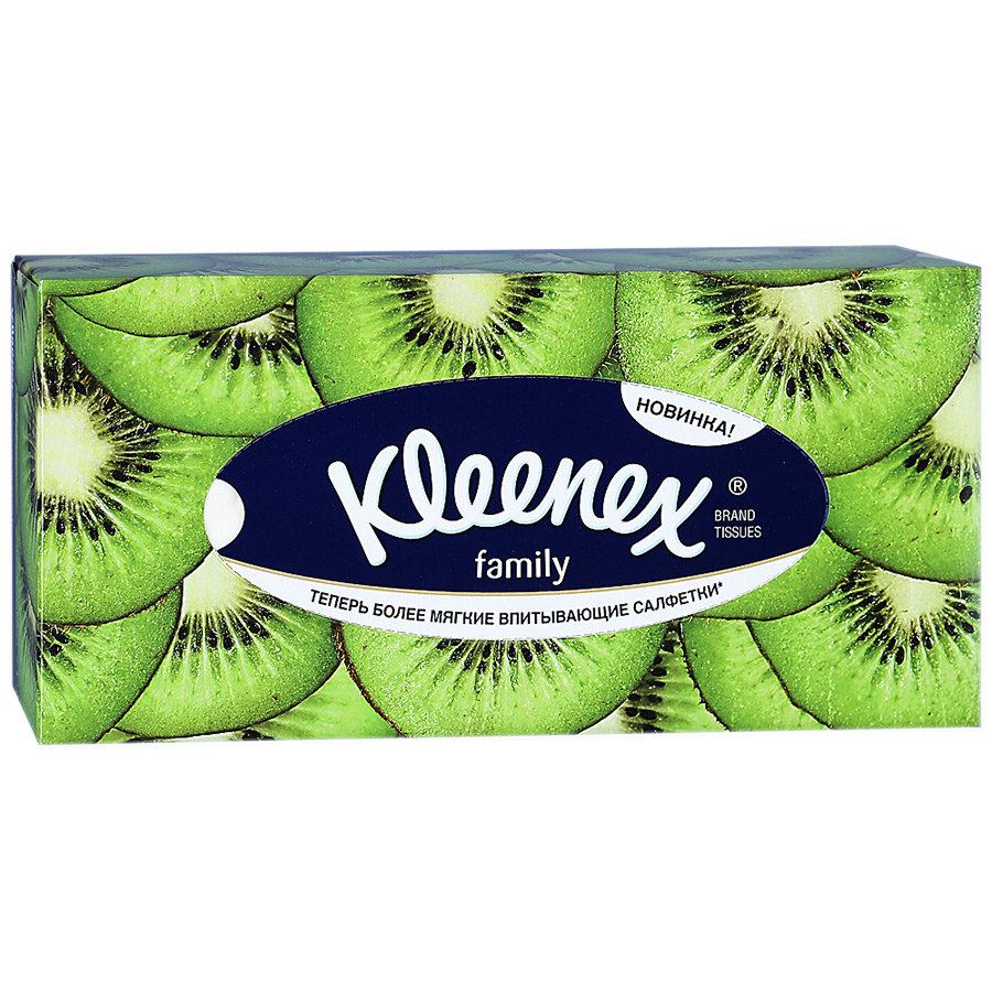 Kleenex салфетки Фэмили, 150шт