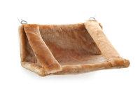 Гамак для кошек Titbit на радиатор 30*45см бежевый