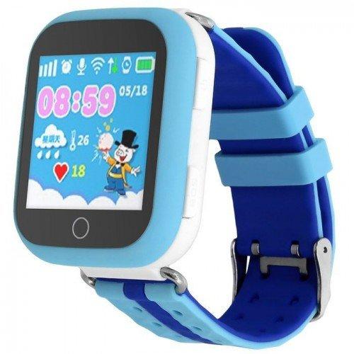 Умные детские часы с GPS Smart Baby Watch GW200S Blue