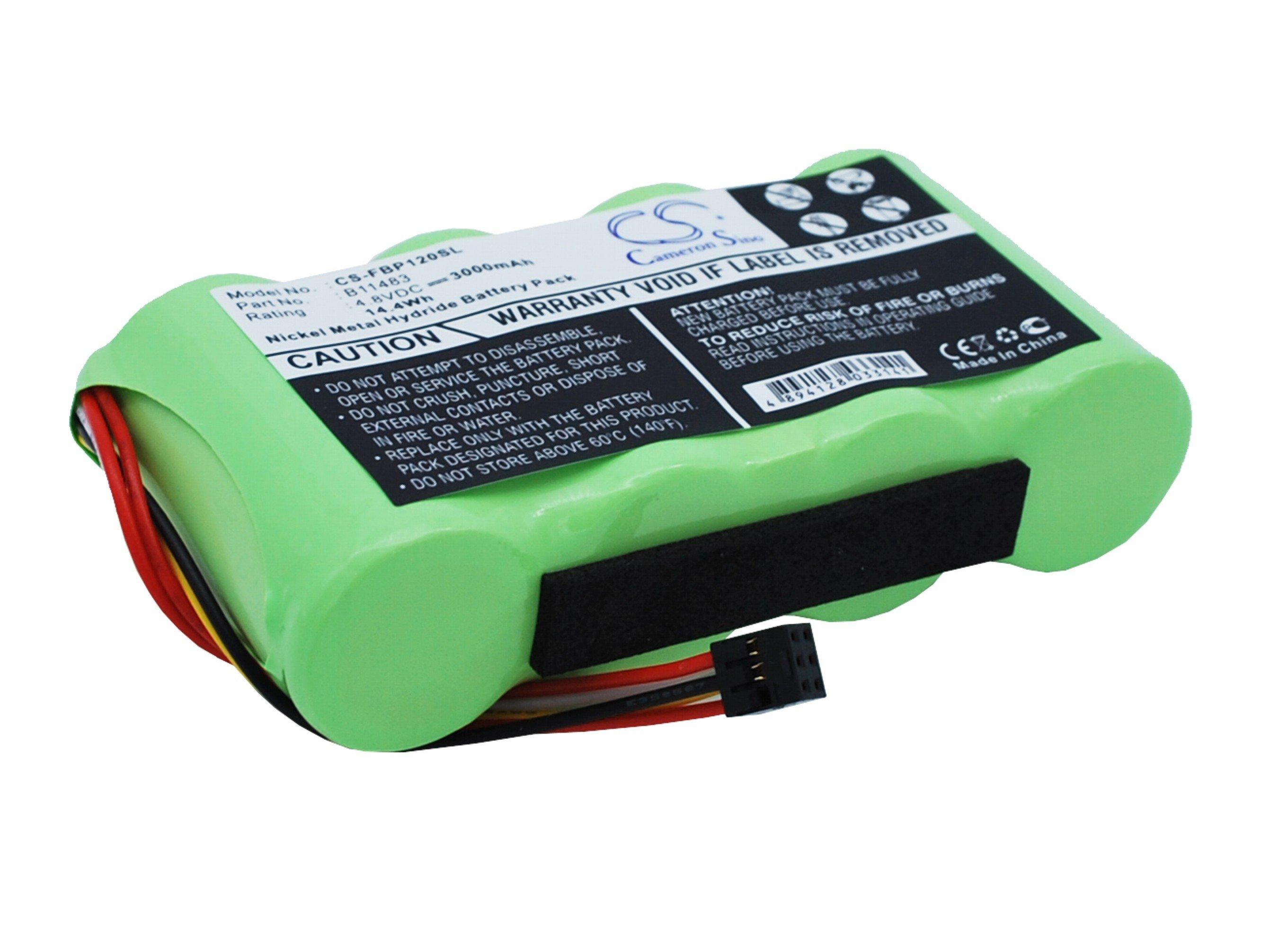 Аккумулятор для Fluke BP120, BP120MH 3000mah CameronSino