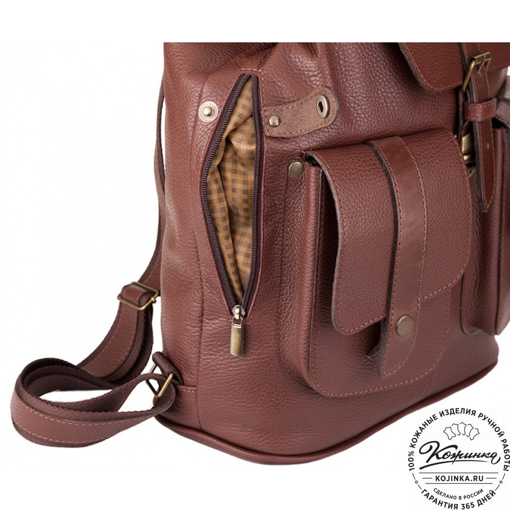 73c79d4c039f ... Кожаный рюкзак ручной работы