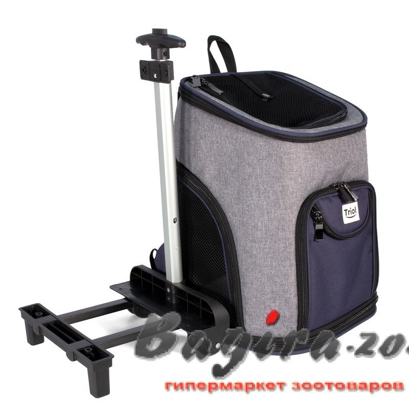 Triol (Триол) Трансформер Сумка-рюкзак для животных на колесах 330*300*500 мм