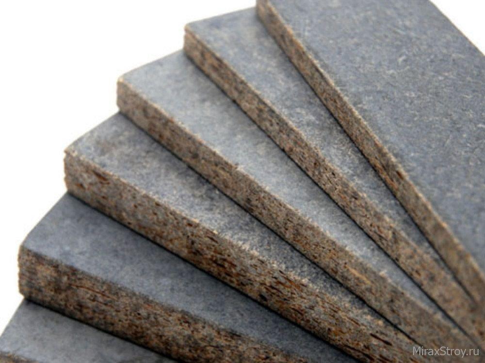 Плита цементно-стружечная (ЦСП) 2,7х1,25м 10 мм