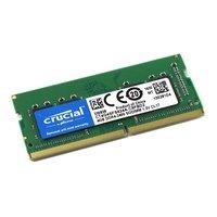 Модуль памяти Crucial - by Micron, CT4G4SFS824A, 4GB, SODIMM DDR4, non ECC, 2400MHz, S8 (1Rx8), CL17, 1.2V