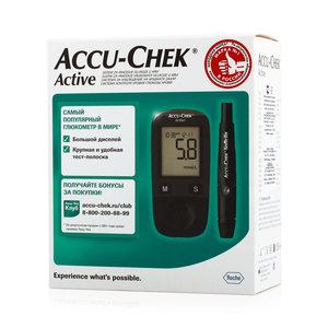 Акку-чек актив глюкометр с принадлежностями