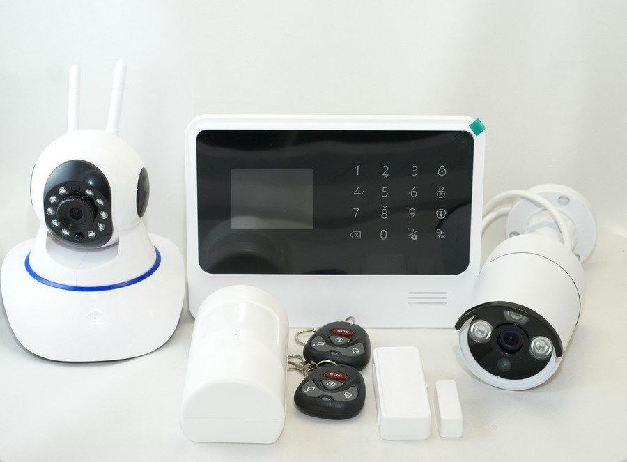 Сигнализация ALFA G90B с домашней уличной видеокамерами