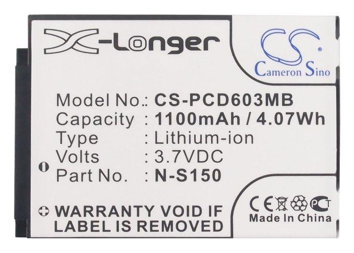 Аккумулятор видеоняни Philips Avent SCD-603, SCD-603/00 SCD-603H Cameron Sino CS-PCD603MB