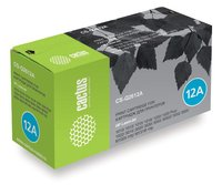 Лазерный картридж Cactus CS-Q2612A (HP 12A) черный для HP LaserJet 1010, 1012, 1015, 1018, 1020, 1020 Plus, 1022, 1022N, 1022NW, 3015, 3020, 3030, 3050, 3050z, 3052, 3055, M1005 MFP, M1300 MFP, M1319 (2'000 стр.)