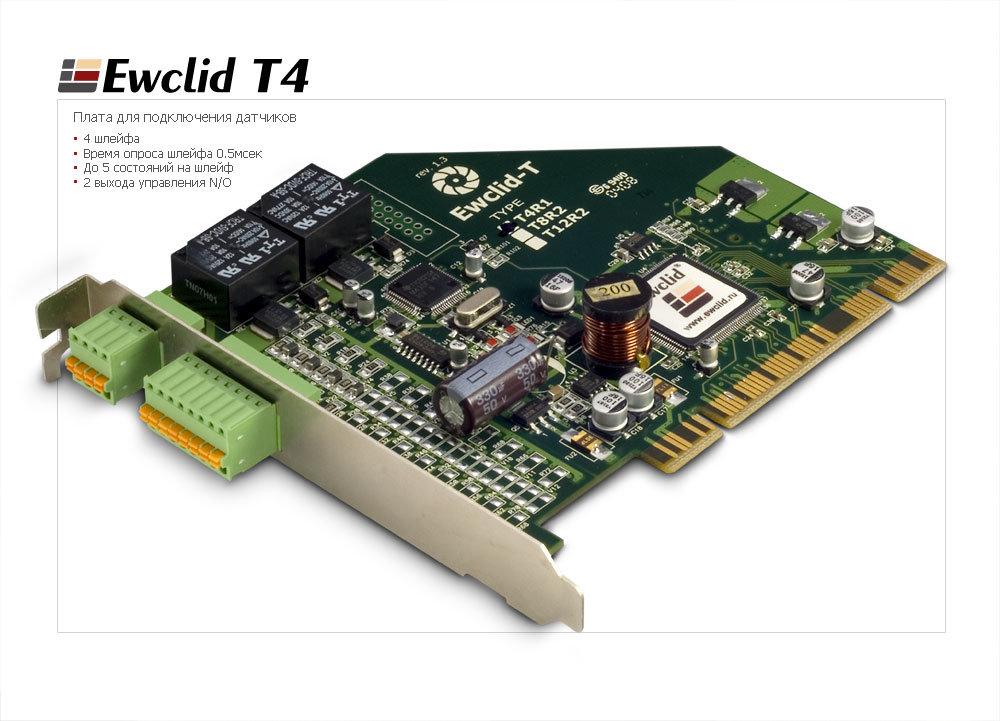 Плата Ewclid T 4