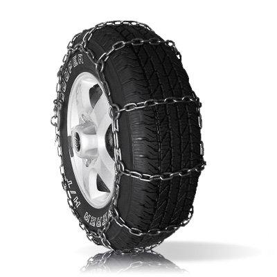 Комплект цепей противоскольжения для грузовых автомобилей 225/75 R16 (лесенка) 6 мм