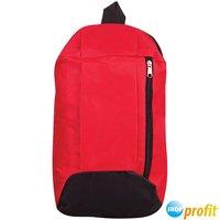 """Рюкзак молодежный ArtSpace """"Simple Sport"""" (390x230x165мм), 1 отделение, 1 карман, красный (SI_16587)"""