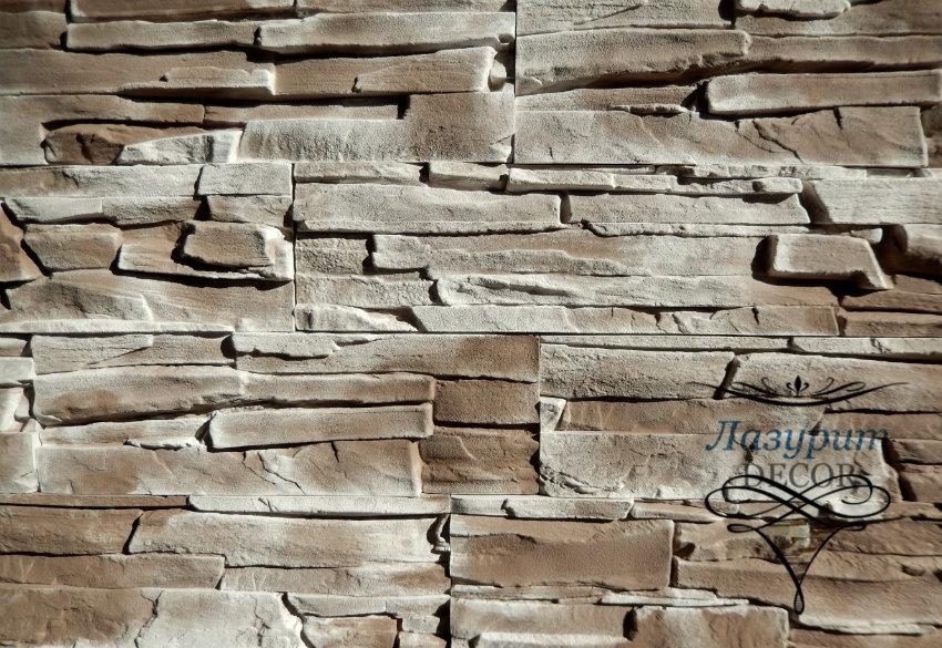 Декоративный камень Lazurit Decor Сланец Альпийский Коричневый Артикул: SAK-02V