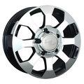Литые диски LS 325 8x17 6/139,7 ET38 d67,1 (BKF) - фото 1