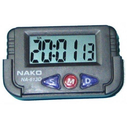 Часы автомобильные NAKO с секундомером