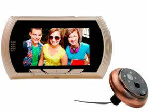 Дверной видеоглазок Sititech YB-43AHD-M