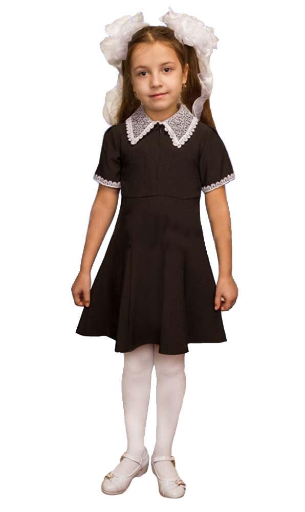 Карнавальный костюм для детей Элит Классик Школьное платье детское, 34 (134 см)