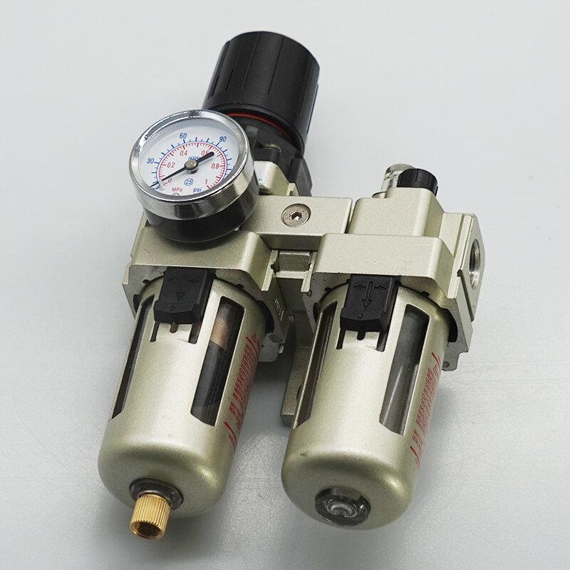 Фильтр-влагоотделитель Pegas AC3010-01 с регулятором давления, лубрикатором