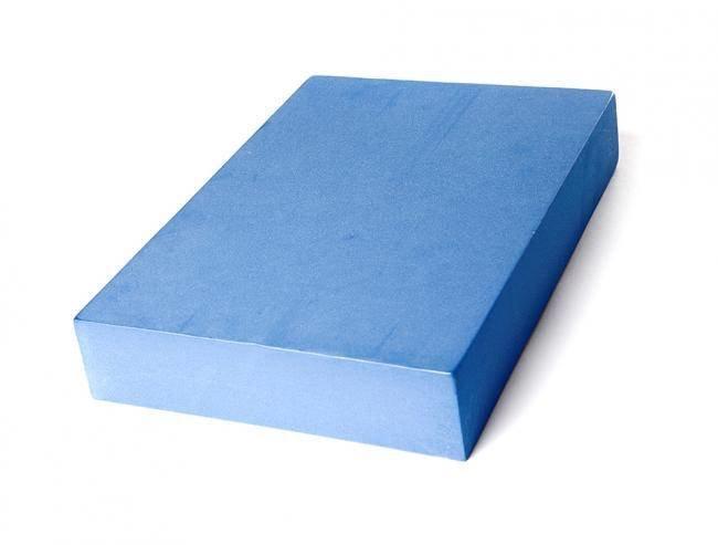 Опорный блок для йоги из EVA-пены плоский Yoga Block