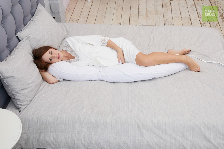 Подушка Mama Relax для кормления бумеранг I 170 см