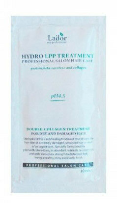 La'dor Eco Hydro Lpp Treatment pouch 10ml 10 мл Маска для волос восстанавливающая пробник