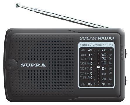 Радиоприёмник Supra ST-111 black