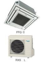 Кондиционеры для установки в подвесной потолок (Кассетные кондиционеры) Daikin FFQ50C / RXS50L