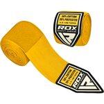 Бинты боксерские RDX 4.5M elasticated hands wraps желтые