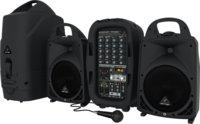 Behringer PPA500BT 6-канальная портативная система звукоусиления, 500 Вт