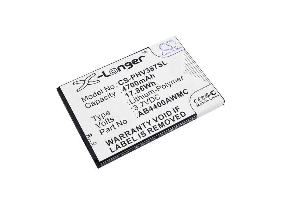 Аккумулятор для Philips Xenium V387 CS-PHV387SL
