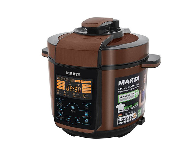 Мультиварка Marta MT-4309 Black-Copper