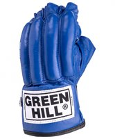 Перчатки снарядные GREEN HILL ROYAL CMR-2076, шингарды, кожа, синий, разм. S